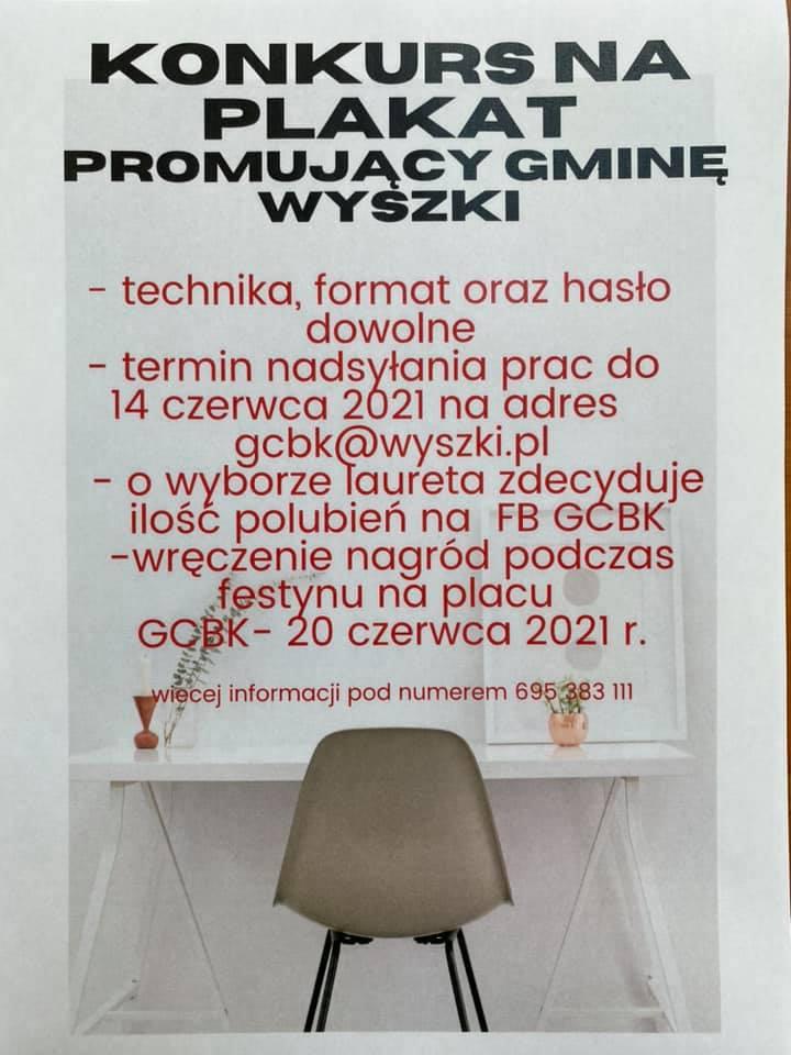 Plakat promujący Gminę Wyszki